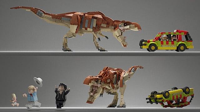 LEGO Jurassic Park Concept