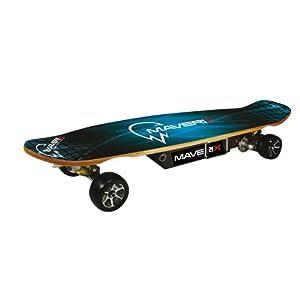 Amazon.com : Maverix Cruiser 600W Electric Skateboard, Blue : Longboard Skateboards : Sports