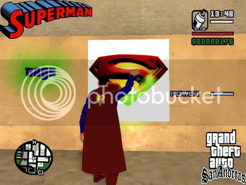 باتشات يتعلق بلعبة SupermanReturnsTags.