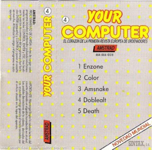 Your Computer Amstrad (4)