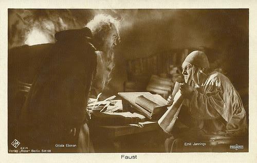 Gösta Ekman, Emil Jannings, Faust
