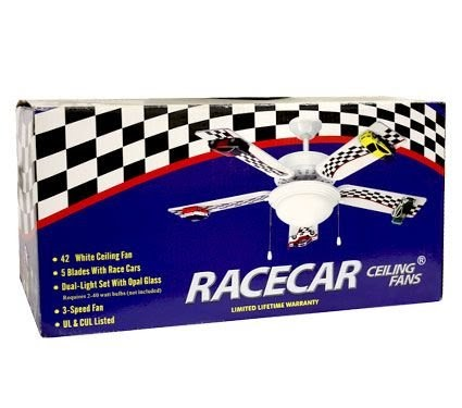 Fan blades ceiling low price 42 race car ceiling fan 5 blade 2 fan blades ceiling low price 42 race car ceiling fan 5 blade 2 light 3 speed new for 3999 aloadofball Image collections