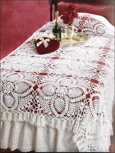 Pineapple Bedspread