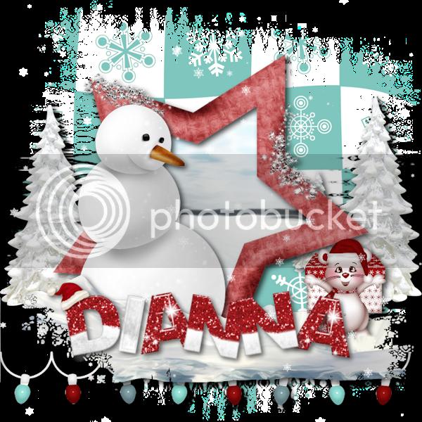 Christmas Mouse - Dianna