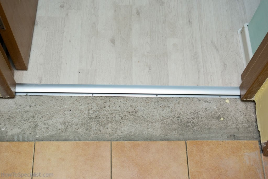 Laminate Wood Door Strips Types Of, Transition Strips For Laminate Flooring To Tile