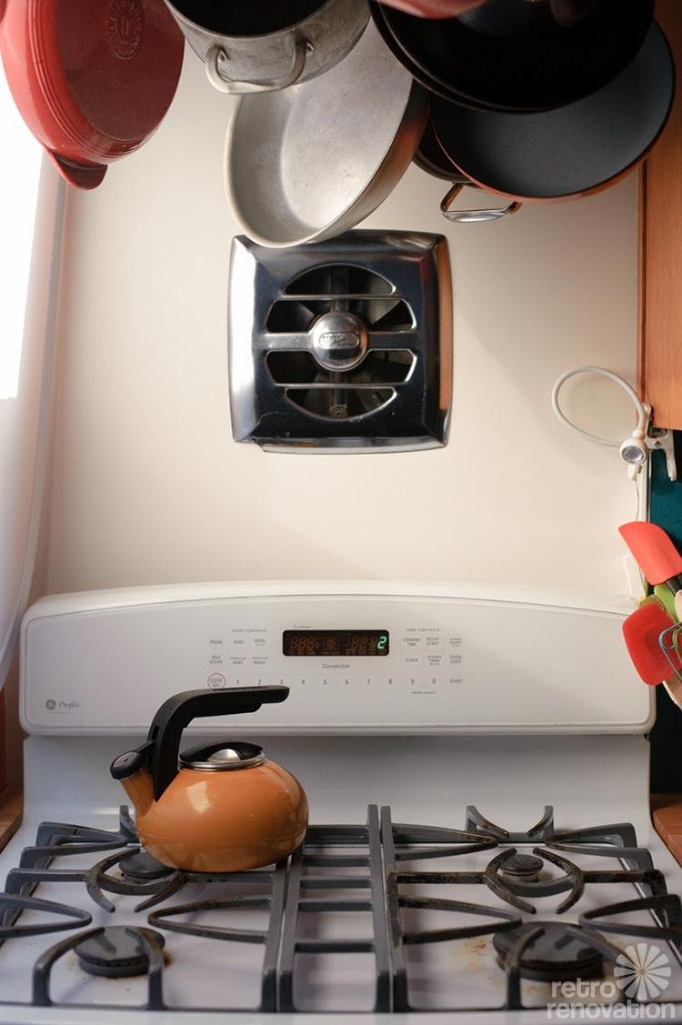 Kitchen exhaust fan through wall 8