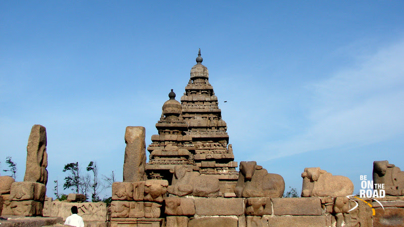 Western entrance to the sea shore temple