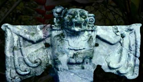 """Mayan """"Death Bat"""""""