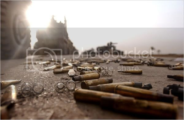 Shell Casings Iraq