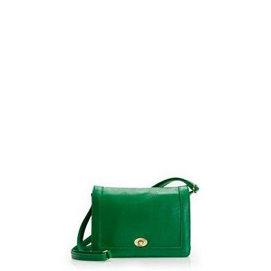 J.Crew Tillary Purse in Collegiate Green