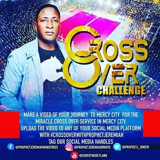 """""""Who are You Crossing With?""""- Nigerian Celebrities, Akpororo, Francis Duru, Gordons, Endorse Crossover Night at Mercy City Warri with Senior Prophet Jeremiah Fufeyin."""