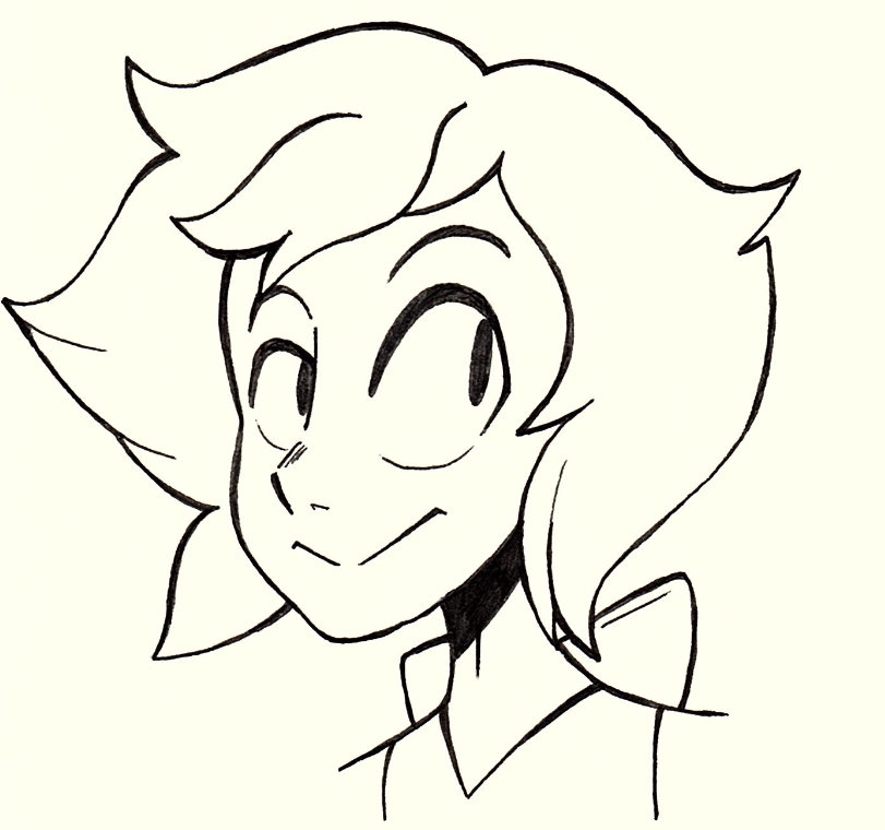 Lapis doodle from illustration class today