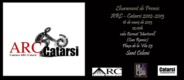 Lliurament ACR-Catarsi 2012