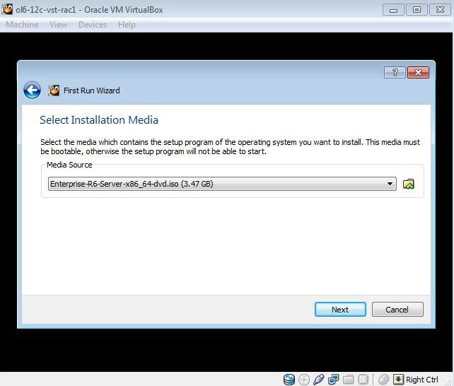 Oracle 12c RAC Virtual 1