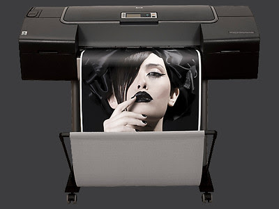 HP Z3200 Designjet Printer - Image courtesy of Hewlett Packard