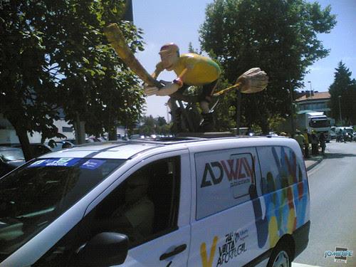 Volta a Portugal em Bicicleta 2012 Carro-Vassoura