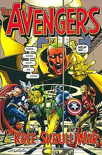Cover of The Avengers: The Kree-Skrull War tra...