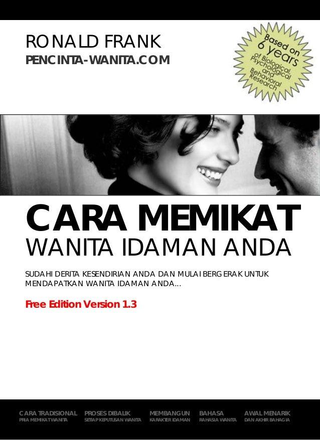 Cara memikat wanita idaman anda download pdf