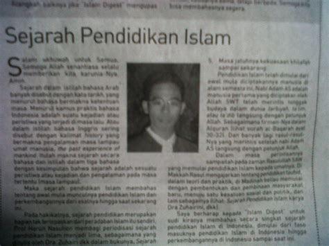 sejarah pendidikan islam darurrahmah sciences