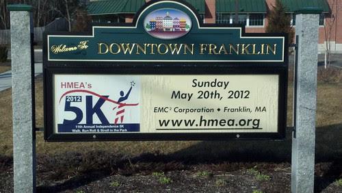 HMEA 5K sign