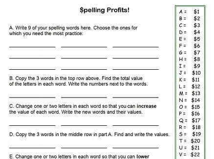 Printable Worksheets For 4th Graders - Scalien