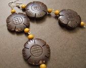 Ethnic Beauty Beaded Dangle earrings