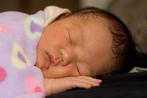 alyssa asleep