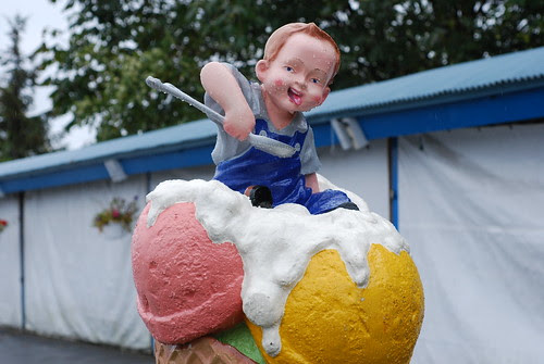 Demonic Ice Cream Child