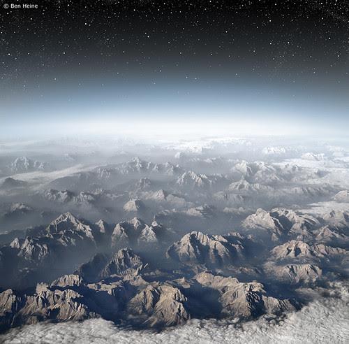 Planet Earth por Ben Heine