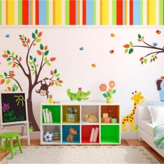 çocuk Odası Duvar Resmi Boyama örnekleri Duvar Resmi Boyama Sanatı