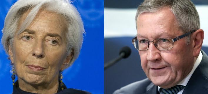 «Πόλεμος» ΔΝΤ-ΕΕ για την Ελλάδα: Μπαλάκι οι ευθύνες και στη μέση το Grexit