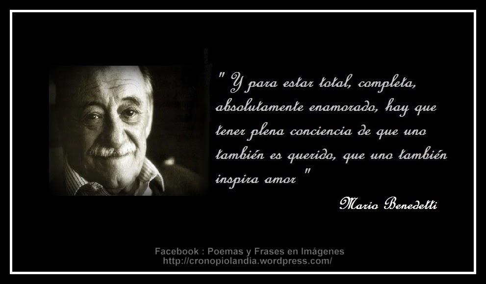 Mario Benedetti Poemas Y Frases De Amor Muharram K