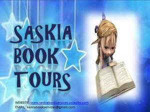 Saskia Book Tours Logo with address