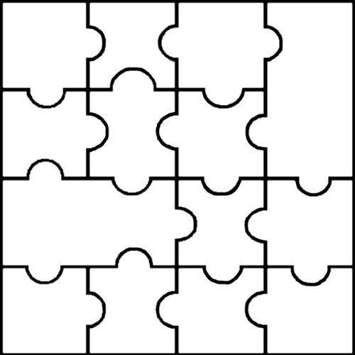1000+ ideas about Puzzle Piece Template on Pinterest | Puzzles ...
