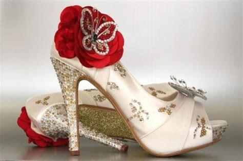 Custom Wedding Shoes    Ivory Peep Toe Wedding Shoes With