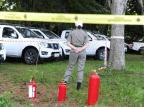 Brigada Militar ouve testemunhas e busca imagens na investigação sobre o incêndio em viaturas Ronaldo Bernardi/Agencia RBS