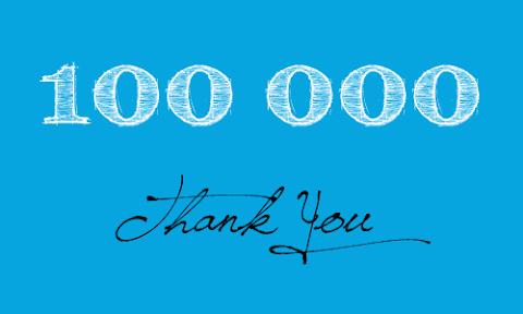 100,000!!