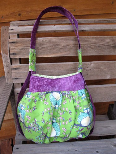 Steps 12-14: Finish the tote (tote #1)