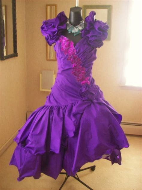 81 best images about Vintage 80s Prom Dresses on Pinterest