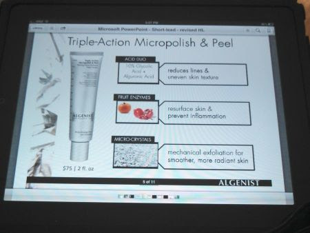 Algenist's Triple-Action Micropolish & Peel
