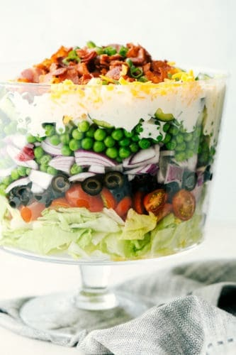 How to make 7 Layer Salad