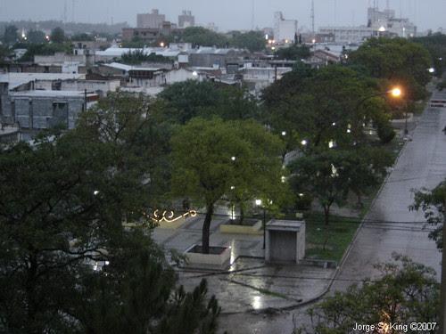 25 de Diciembre con lluvia
