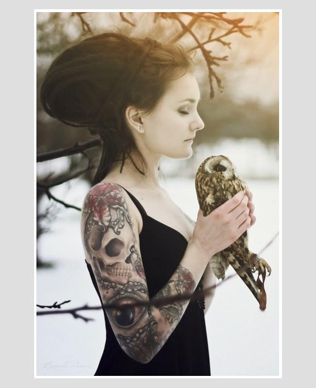 Girl w-owl