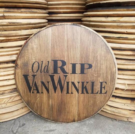 Pappy Van Winkle Rip Van Winkle Bourbon Barrel Head Whiskey