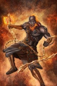 Hephaestus (Vulcan) Greek God - Art Picture by Elder_of_the_Earth