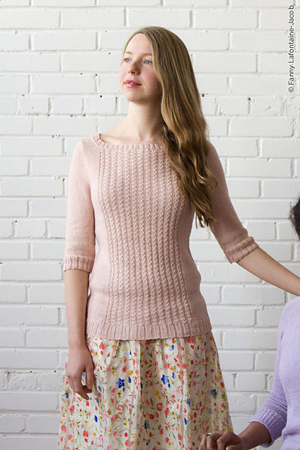 chandail femme tricoté
