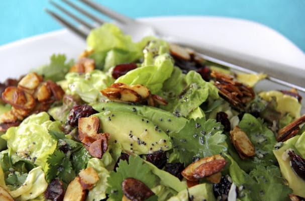 makanan sihat yang menggemukkan - salad