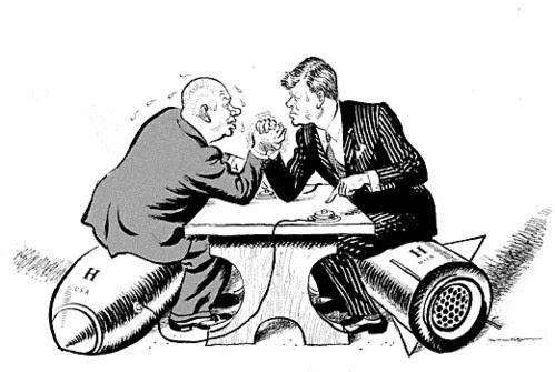 Anticipando el futuro: Oswald Spengler y la guerra que no fue - Pulso entre Kruschev y Kennedy