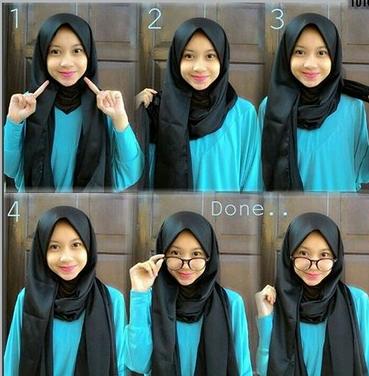 Cara Memakai Hijab Pashmina Simple Dan Mudah Untuk Remaja Hijab Review
