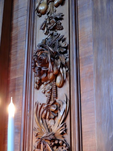 Wood Carving at Chatsworth